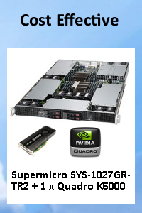 Cost Effective GPU Solution for VDI